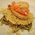 shrimp caesar pasta