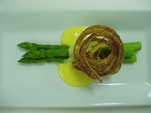 asparagus baconaise