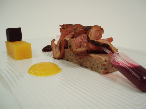 'beet box' duck