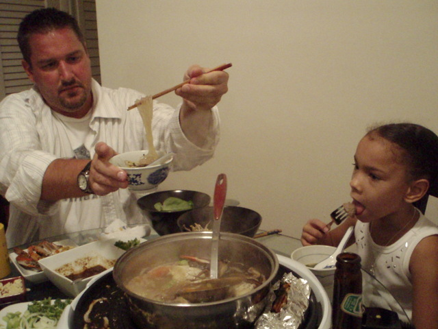Chef K and little K
