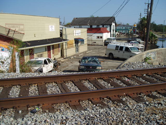 10. Over the tracks