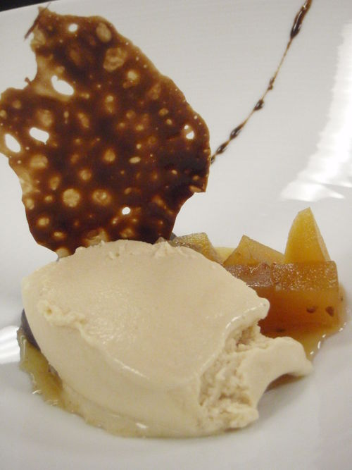 foie gelato apples