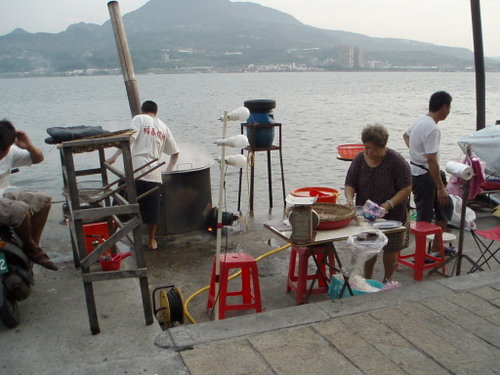 dockside cooking