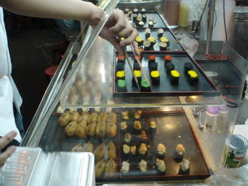 sushi cart